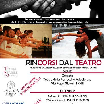 Third Round of TsGR Theatrical Labs All Over Italy