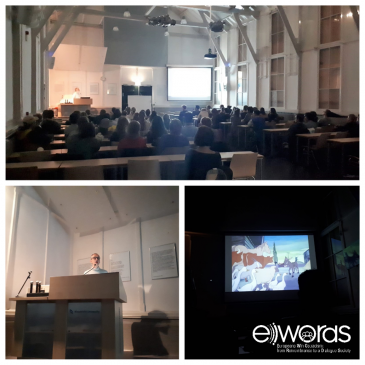 Great Success for E-WORDS Film Debut in Maastricht!