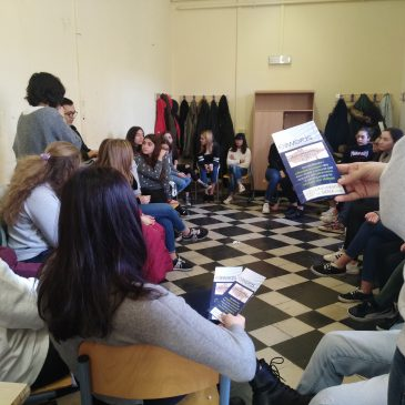 First E-WORDS Meeting at Liceo Piccolomini, Siena (IT)